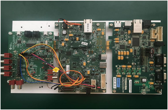 Daliuanding group has introduced the onboard Ethernet bridge solution based on TOSHIBA