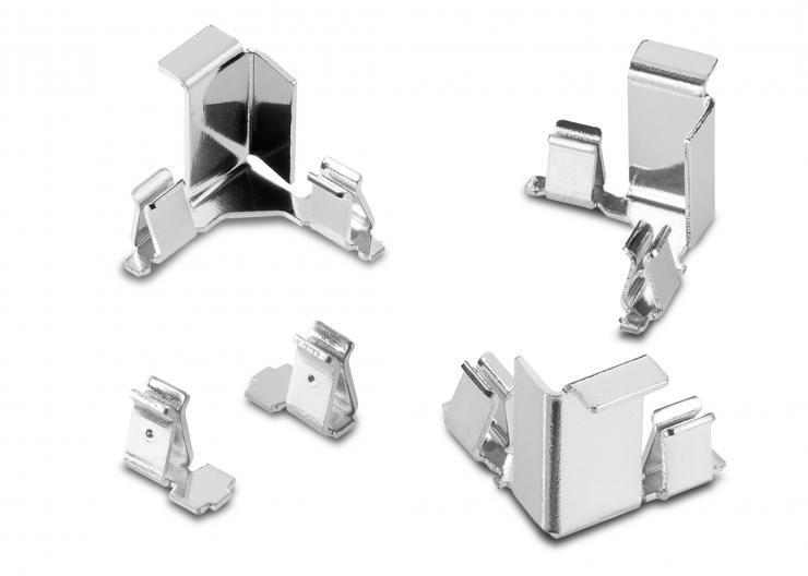 Harwin launches ultra-compact EMI/RFI shield clamps for confined design Spaces